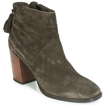 鞋子 女士 短筒靴 André CARESSE 灰色