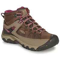 鞋子 女士 登山 Keen TARGHEE III MID WP 棕色 / 玫瑰色