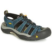 鞋子 男士 运动凉鞋 Keen NEWPORT H3 海蓝色