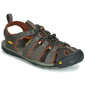 鞋子 男士 运动凉鞋 Keen MEN CLEARWATER CNX 灰色 / 棕色
