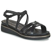 鞋子 女士 凉鞋 Tamaris EDA 黑色
