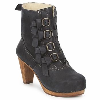 鞋子 女士 短靴 Sanita ELM CONE 黑色