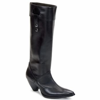 鞋子 女士 都市靴 Stephane Gontard PUCCINI 黑色