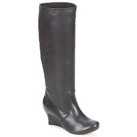 鞋子 女士 都市靴 Vialis 维拉丽丝 GRAVAT 黑色