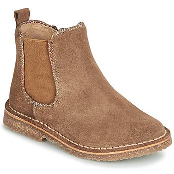 鞋子 女孩 短筒靴 André ARIA 驼色