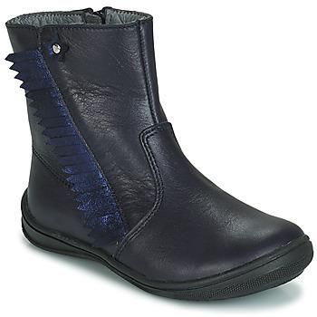 鞋子 女孩 短筒靴 André INDIANA 海蓝色