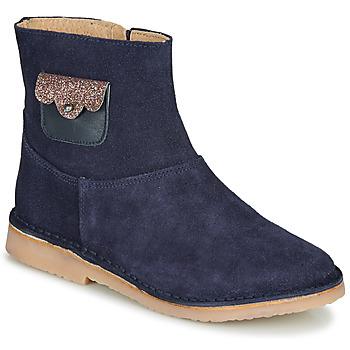 鞋子 女孩 短筒靴 André YELENA 海蓝色