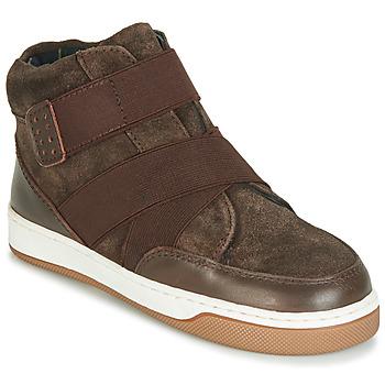 鞋子 男孩 短筒靴 André CUBE 棕色