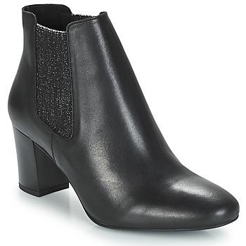 鞋子 女士 短筒靴 André FONDANT 黑色