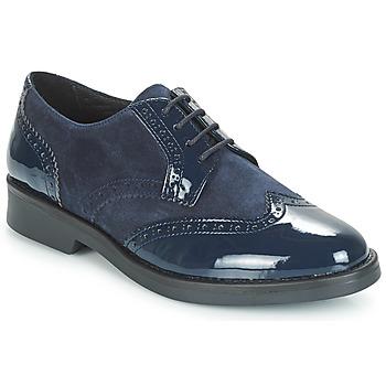 鞋子 女士 德比 André CASPER 海藍色