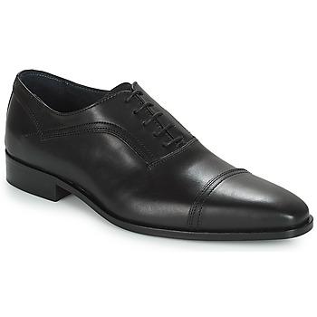 鞋子 男士 系帶短筒靴 André JOHN 黑色