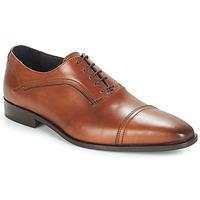 鞋子 男士 系带短筒靴 André JOHN 棕色