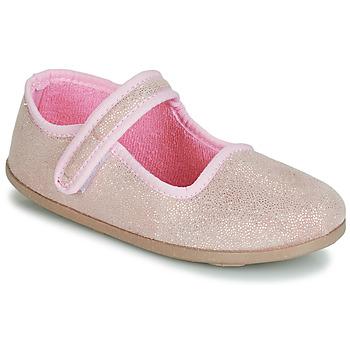 鞋子 女孩 平底鞋 André VIOLINE 玫瑰色