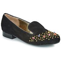 鞋子 女士 皮便鞋 Lola Ramona PENNY 黑色 / 金色