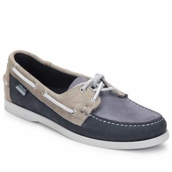 鞋子 男士 船鞋 Sebago 仕品高 SPINNAKER 海军蓝 / 白色 / 蓝色