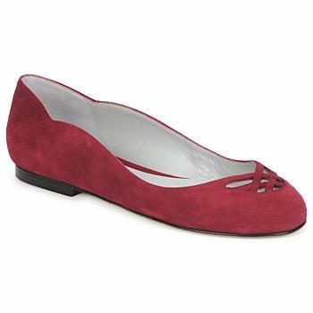 鞋子 女士 平底鞋 Fred Marzo MOMONE FLAT 波尔多红