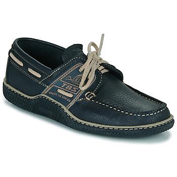 鞋子 男士 船鞋 TBS GLOBEK 海藍色