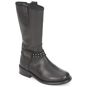鞋子 女孩 短筒靴 Hip GRABI 黑色
