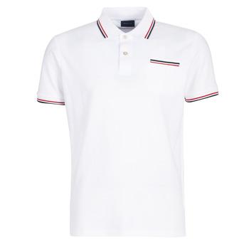衣服 男士 短袖保罗衫 Gant COL TIPPING PIQUE 白色