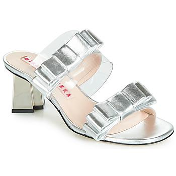 鞋子 女士 凉鞋 Minna Parikka FELIZ 银灰色
