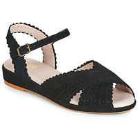 鞋子 女士 凉鞋 Miss L'Fire BRIGITTE 黑色