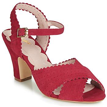 鞋子 女士 凉鞋 Miss L'Fire BEATRIZ 红色