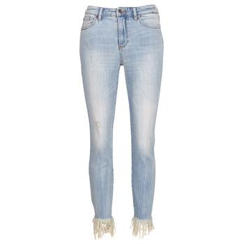 衣服 女士 女士七分裤/女士九分裤 Armani Exchange HELBAIRI 蓝色 / 米色