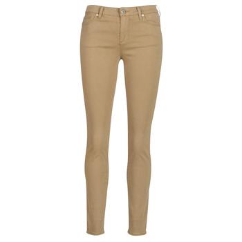 衣服 女士 多口袋裤子 EMPORIO ARMANI EAX HELBIRO 米色