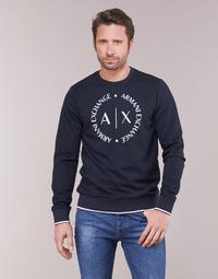 衣服 男士 卫衣 Armani Exchange HERBARI 黑色