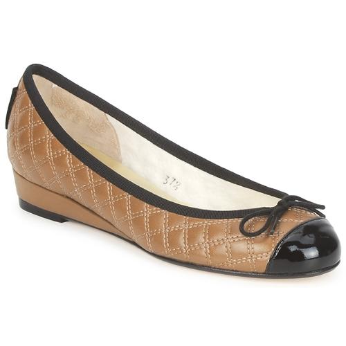 鞋子 女士 平底鞋 French Sole HENRIETTA 灰褐色
