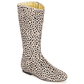 鞋子 女士 都市靴 French Sole PATCH Leopard