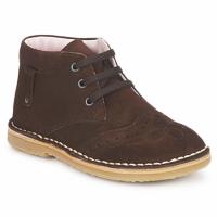 鞋子 女孩 短筒靴 Cacharel 卡夏尔 HARRY 棕色