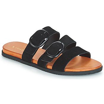 鞋子 女士 休闲凉拖/沙滩鞋 Volcom BUCKLE UP BUTTERCUP 黑色