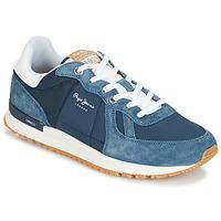 鞋子 男士 球鞋基本款 Pepe jeans TINKER PRO 蓝色