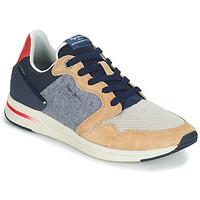 鞋子 男士 球鞋基本款 Pepe jeans JAYKER DUAL D LIMIT 蓝色 / 米色