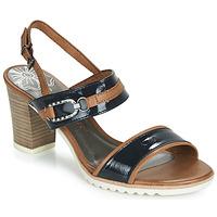 鞋子 女士 凉鞋 Marco Tozzi TRELEME 驼色 / 海蓝色