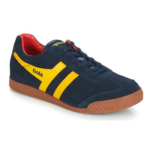 鞋子 男士 球鞋基本款 Gola HARRIER 蓝色 / 黄色