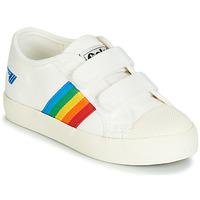 鞋子 儿童 球鞋基本款 Gola COASTER RAINBOW VELCRO 白色