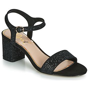 鞋子 女士 凉鞋 Ravel WALTON 黑色