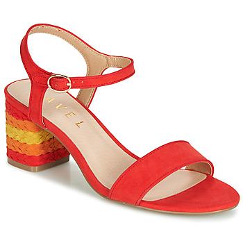 鞋子 女士 凉鞋 Ravel CLEMONT 橙色
