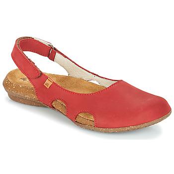 鞋子 女士 凉鞋 El Naturalista WAKATAUA 红色