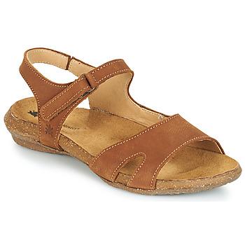 鞋子 女士 凉鞋 El Naturalista WAKATAUA 棕色