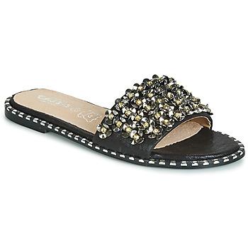 鞋子 女士 休闲凉拖/沙滩鞋 Cassis Côte d'Azur ALVINA 黑色