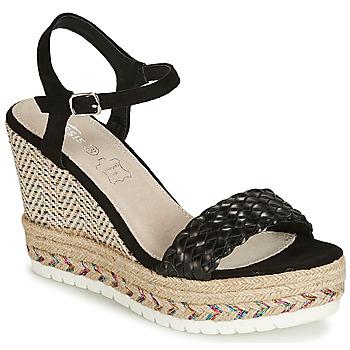 鞋子 女士 凉鞋 Cassis Côte d'Azur CASSANDRA 黑色