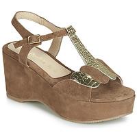 鞋子 女士 凉鞋 Lola Espeleta NAWELLE 棕色