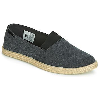 鞋子 男士 帆布便鞋 Quiksilver 极速骑板 ESPADRILLED M SHOE SBKM 黑色