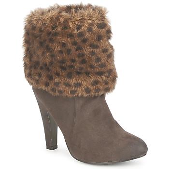 鞋子 女士 短靴 StylistClick JOYCE 棕色