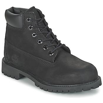 鞋子 儿童 短筒靴 Timberland 添柏岚 6 IN CLASSIC 黑色