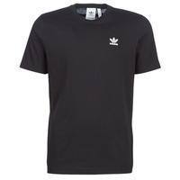 衣服 男士 短袖体恤 Adidas Originals 阿迪达斯三叶草 ESSENTIAL T 黑色