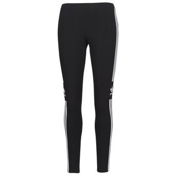 衣服 女士 紧身裤 Adidas Originals 阿迪达斯三叶草 TREFOIL TIGHT 黑色